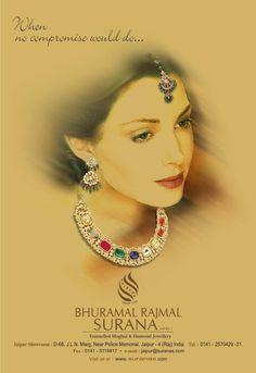 Bhuramal Rajmal Surana Jewellers of Jaipur. THE WORLD OF SURANAS, rings, necklace sets, diamond sets, kundan sets, pendant sets, watches and more. Buy jewelry from suranas.com.