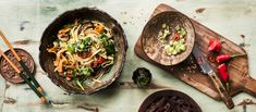 Great Recipes, Healthy Recipes, Healthy Food, Japchae, Food Inspiration, Chili, Main Dishes, Good Food, Mexican