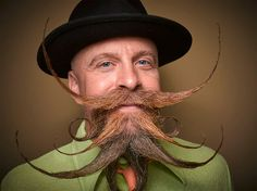 One-of-a-Kind Facial Hair Designs from the 2016 National Beard and Moustache…