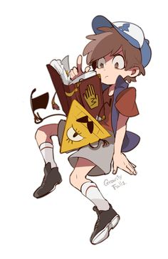 #gravity falls #dipper pines #bill cipher by SU-Lee