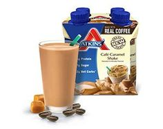 Atkins Cafe Caramel Shake 4 Ct Box Pack of 1 >>> Find out more details by clicking the image : Weight loss Shakes and Powders