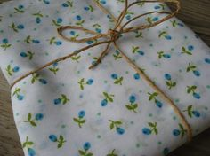 Vintage Rosebud Fabric  Quilting Cotton  Blue by TheDestashDepot, $14.95