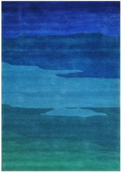 Have you ever wondered what it would feel like to walk on the ocean floor? | Ocean Horizon Rug cort.com