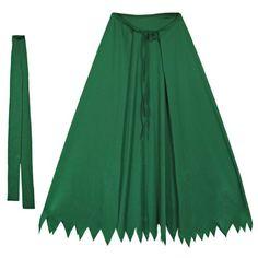 Child Green Hero Cape Set ~ Halloween Costume Accessories (STC11523)