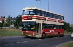 SYT 1951 is an MCW Metrobus Mk 2 fitted with coach seats and branded as Fastline for use on longer distance services. South Yorkshire Transport, First Bus, Sheffield England, Bus Coach, Busses, Public Transport, Coaches, Campers, Luxury Cars