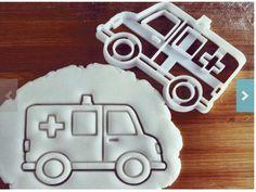 ambulance cookie cutter