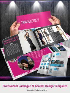 Professional Catalogue & Booklet Design Templates
