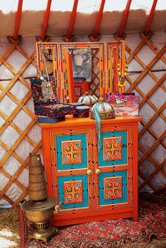 """Boites, bijoux, La Fiancée du Mekong, collection AH15 """"In Mongolie for Love""""."""