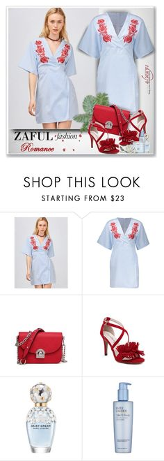 """""""Zaful Fashion14"""" by sneky ❤ liked on Polyvore featuring Marc Jacobs, Estée Lauder and Borghese"""