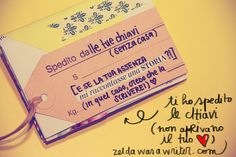 Zine: Le MIE chiavi di casa TUA | Zelda was a writer