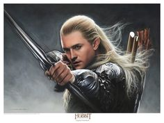 jerry vanderstelt hobbit | jerry_vanderstelt_the_hobbit_legolas_greenleaf_art_print
