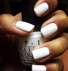 White nails are super hot! #PANDORAloves #Nailpolish