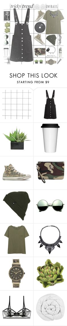 """Tricky trend "" by larifarii ❤ liked on Polyvore featuring Lux-Art Silks, Sagaform, Converse, Yves Saint Laurent, Billabong, Revo, rag & bone/JEAN, Decree, Nearly Natural and ELSE"