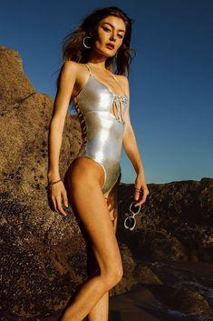 Cosmic Gypsy Monokini #cosmic #metallic #sauvage #swimwear #gypsy
