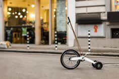 Halfbike: pura movilidad urbana!