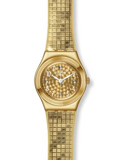 awesome Swatch Ladies Dance Floor Strap Watch YSG135 just added...  Check it out at: https://buyswisswatch.co.uk/product/swatch-ladies-dance-floor-strap-watch-ysg135/