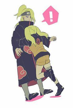 Naruto Akatsuki Funny, Naruto And Sasuke Kiss, Deidara Akatsuki, Naruto Cute, Naruto Funny, Naruto Girls, Naruko Uzumaki, Naruto Shippuden Sasuke, Naruto Kakashi
