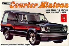 AMT Ford Courier Minivan box art