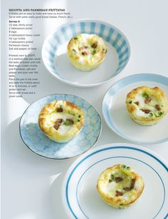 ricotta and parmesan frittatas, Sweet Paul Magazine - Spring 2011 - Page 43