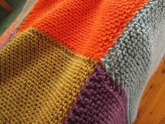 blanket seam2 by ravelkate, via Flickr