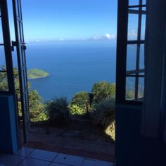 View from the Rainbow Toucan Bedroom