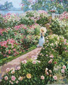 Stanislav Fomenok - Spaziergang im Garten