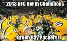 NFC North Champion Green Bay Packers 12/29/2013