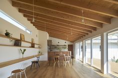 Completed in 2017 in Komoro, Japan. Images by Ikunori Yamamoto. This is a one-story residential house for a family of four―a couple and two children―and is built in Komoro City, Nagano Prefecture. With views of...
