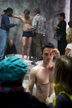 Hannibal behind the scene 2x5 Mukozuke.. Jonathan Tucker as Matthew Brown... Over 73,000 signatures so far... sign the petition to save Hannibal at http://www.change.org/p/nbc-netflix-what-are-you-thinking-renew-hannibal-nbc