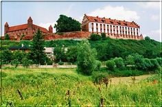 Castle in Gniew. Poland