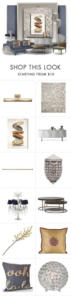 """I love Eichholtz"" by lenadecor ❤ liked on Polyvore featuring interior, interiors, interior design, home, home decor, interior decorating, Jayson Home, Pure Rugs, Oliver Gal Artist Co. and Linfa Design"