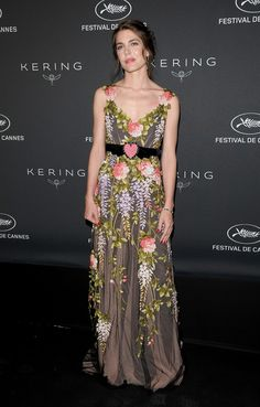 Cannes 2017 - Charlotte Casiraghi in Gucci - Day 6 (Kering Women In Motion Award)