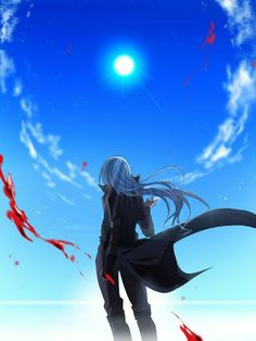 Anime Guys, Manga Anime, Anime Art, Slime Wallpaper, Blue Hair Anime Boy, Anime Devil, Amaterasu, D Gray Man, Korean Art