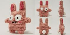 i crochet things: Free Pattern: Freezer Bunny from the Sims game