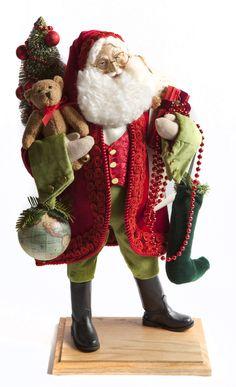 Classic Lynn Haney Santa