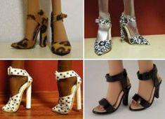 НАША СТРАНА МАСТЕРОВ: Как сделать туфли для Барби?