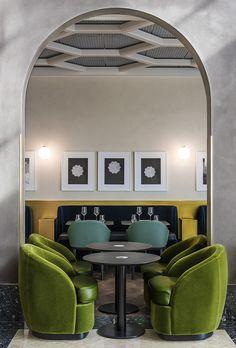 Les plus beaux restaurants deco a Paris : I Love Paris par India Mahdavi