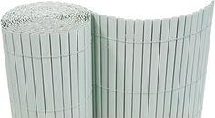 PVC Sichtschutzmatte 200x400 cm hellgrau