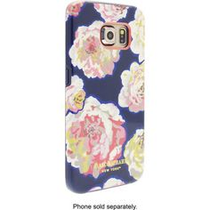 Isaac Mizrahi New York - Graphic Exploded Floral Case for Samsung Galaxy S6 edge Cell Phones - Multi - Angle Zoom