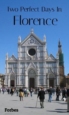 When in Florence, Italy, make a trip over to Basilica of Santa Croce, where Italian greats like Michelangelo, Galileo, and Machiavelli were laid to rest. And if fashion is your thing, opt instead to peruse Museo Salvatore Ferragamo or the Gucci Museum. #ItalyVacation