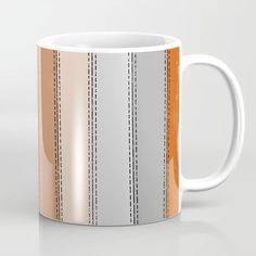 Buy orange lines Coffee Mug by HappyPatterns. Worldwide shipping available at Society6.com. Just one of millions of high quality products available. Orange Line, Drinkware, Coffee Mugs, The Originals, Tableware, Design, Tumbler, Dinnerware, Coffee Cups