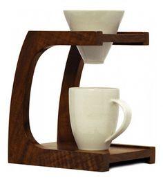 Cafetera minimalista