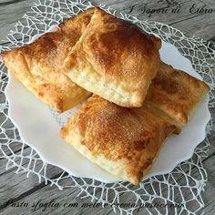 Pasta sfoglia con mele e crema pasticcera