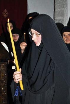 Sister at Koncul Monastery, Kosovo