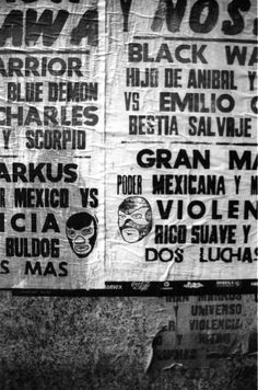 Lucha Libre Posters