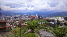 Manizales - Colombia, al atardecer.