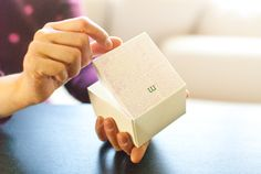 DIY - Anthropologie-Inspired Favor Boxes