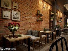 Thiết kế nội thất quán cafe đẹp hiện đại