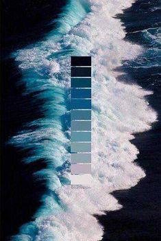 inspiration-farbe-farbkarten-farbpalette-farbverlauf-wandfarbe-farbe/ - The world's most private search engine Colour Pallette, Colour Schemes, Ocean Color Palette, Color Swatches, Photomontage, Color Theory, Aesthetic Wallpapers, Color Inspiration, Nature Photography