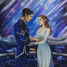 feyre and rhysand A Court Of Wings And Ruin, A Court Of Mist And Fury, Fanart, Feyre And Rhysand, Sarah J Maas Books, Throne Of Glass Series, Look At The Stars, Crescent City, Book Fandoms